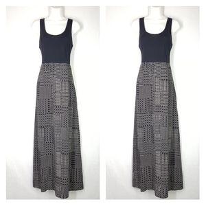 Mudd maxi dress, size Large, open back dress.